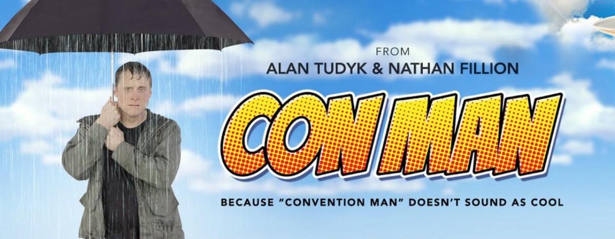Alan Tudyk Con Man at Fan Expo Dallas