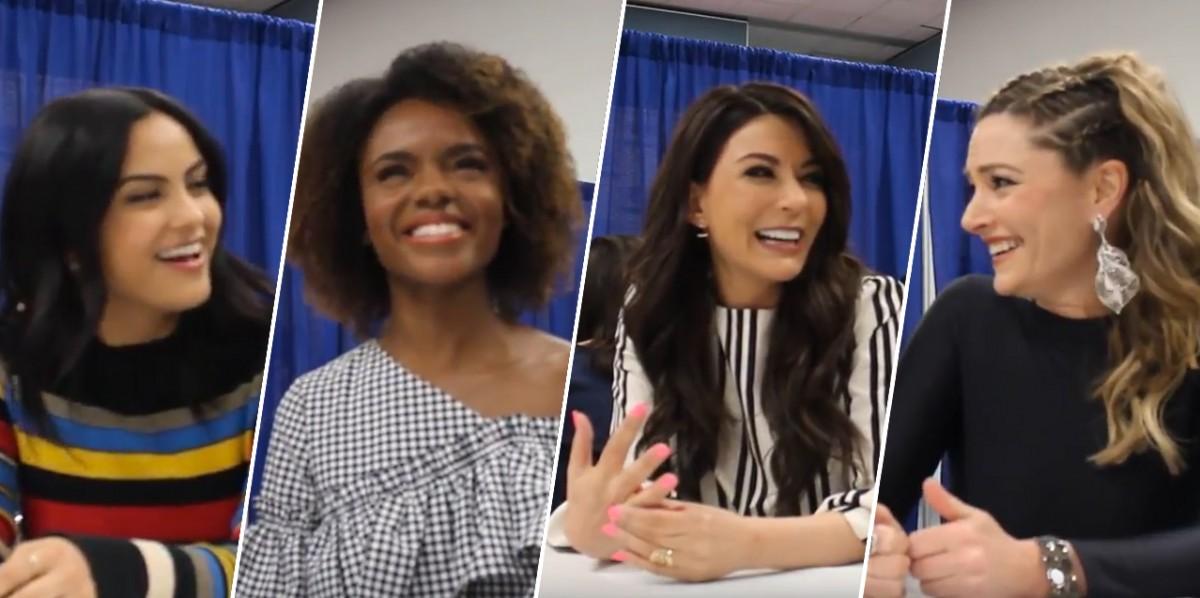 Riverdale cast at Wondercon 2017