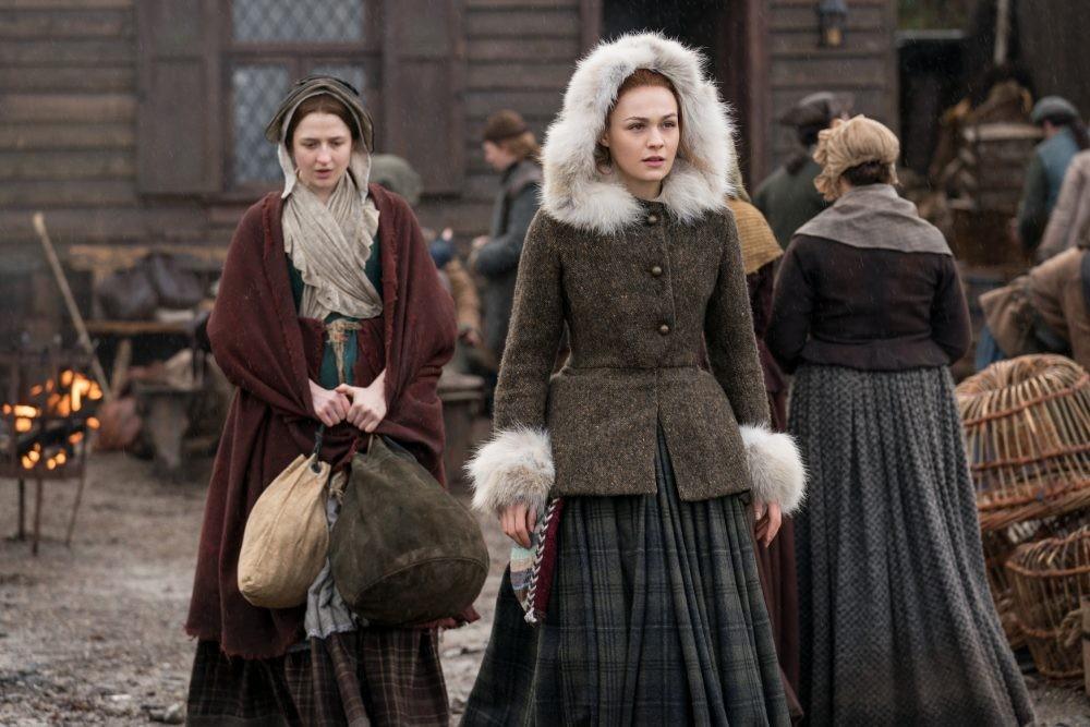 Outlander Bree Lizzie