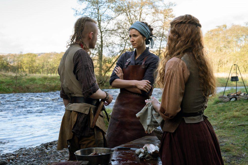 Outlander Claire Bree Ian