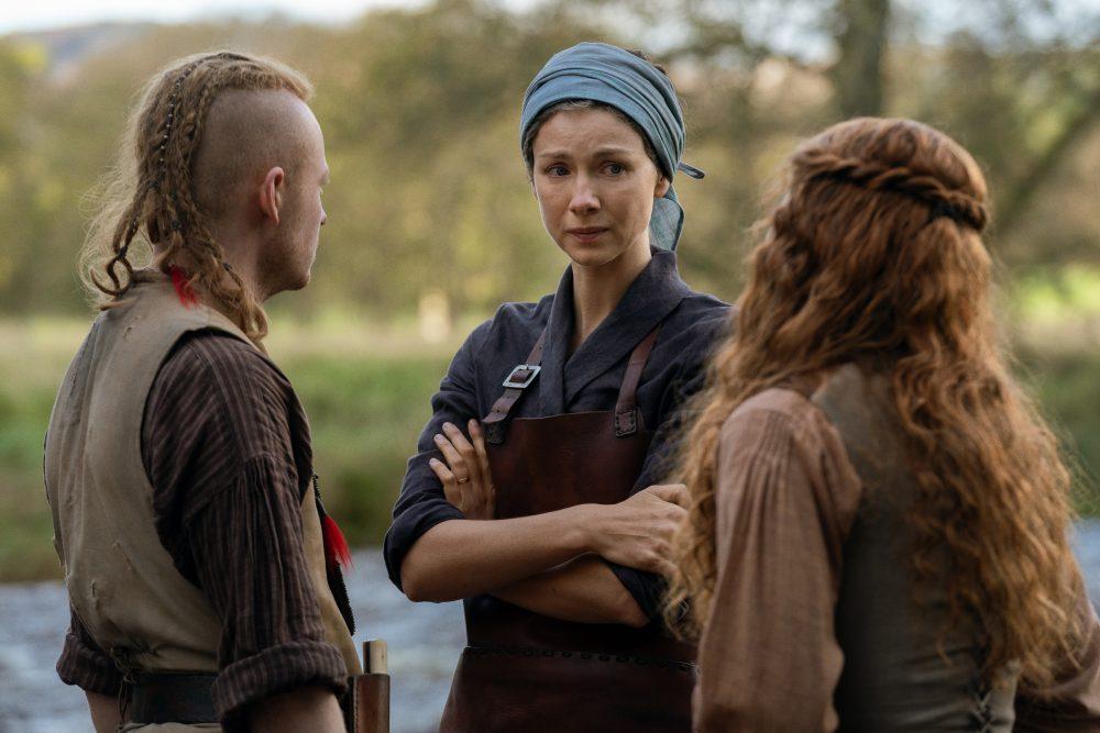 Outlander Claire Ian Bree