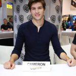 Cameron Cuffe at Krypton signing