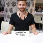 Executive producer Cameron Welsh at Krypton signing