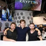 Kindler, Cuffe, and Welsh at Krypton signing