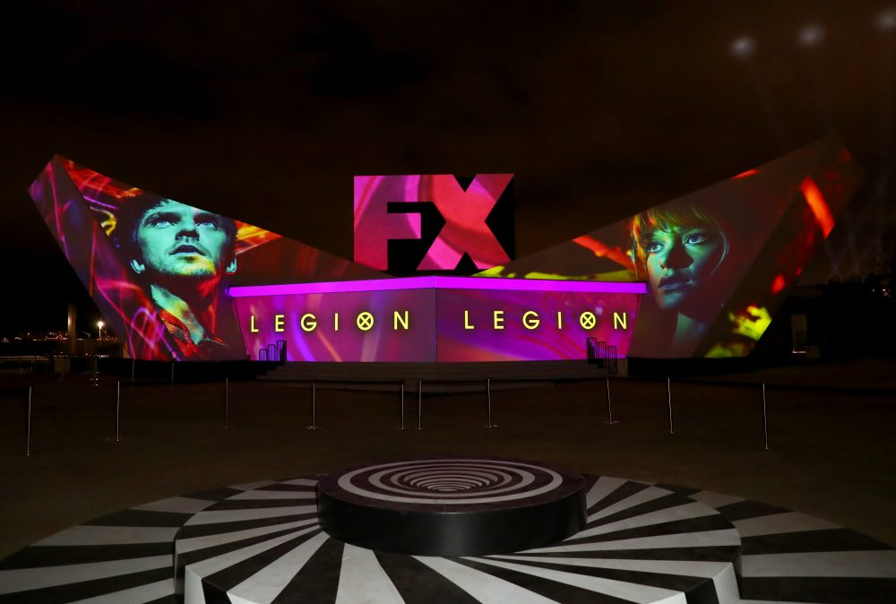 FX Fearless Forum Nightly Projection Show