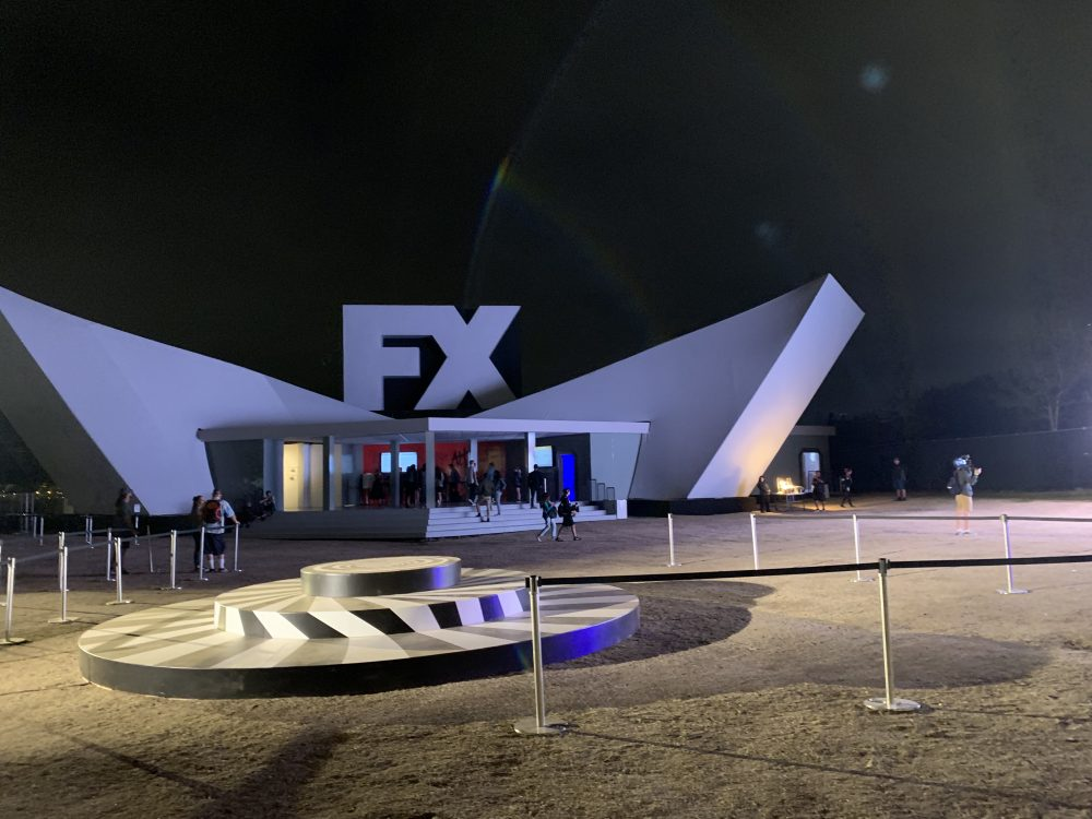 FX Fearless Forum at Night