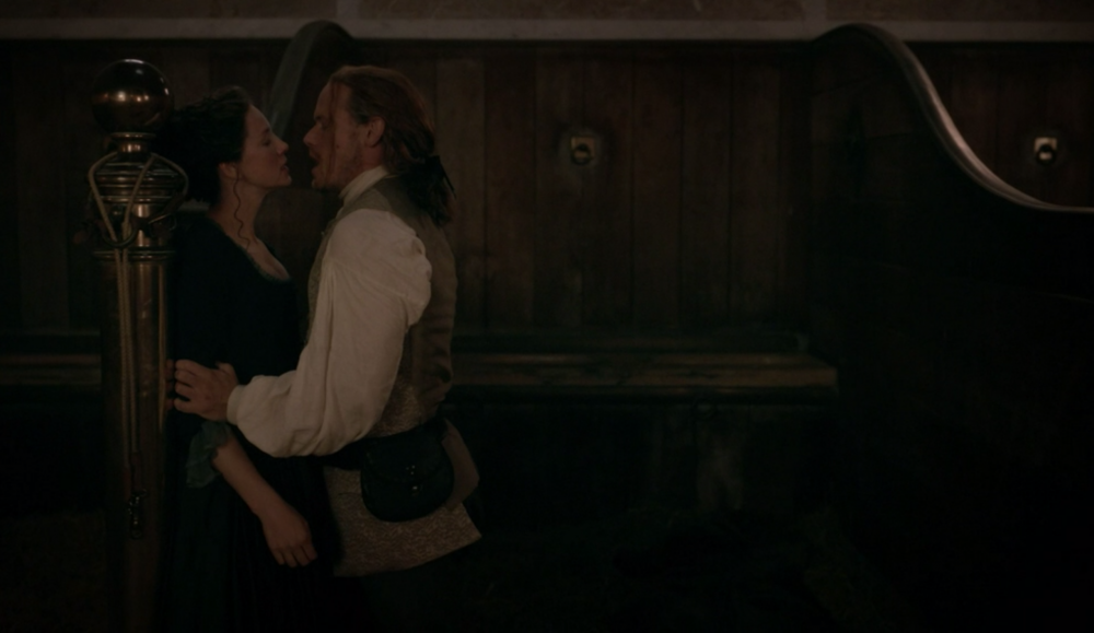 Outlander Jamie Claire Better to Marry than Burn