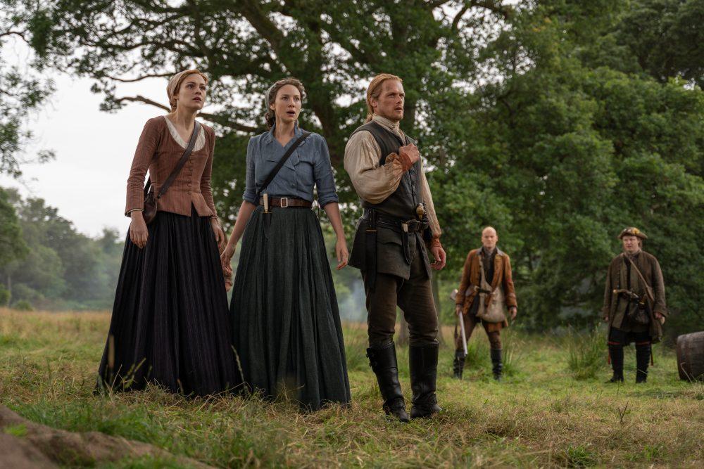Outlander Jamie Claire Bree Ballad of Roger Mac
