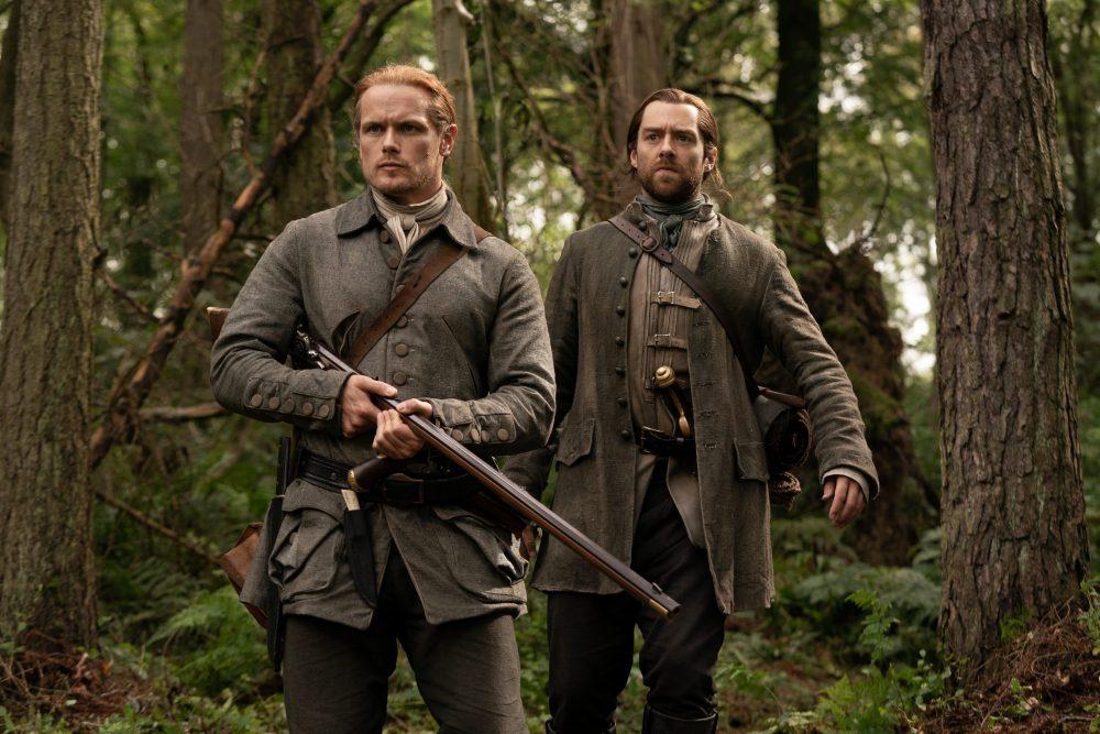 Outlander Jamie Roger